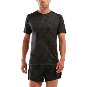 2XU GHST Shortsleeve T-Shirt Men, black/corrosion